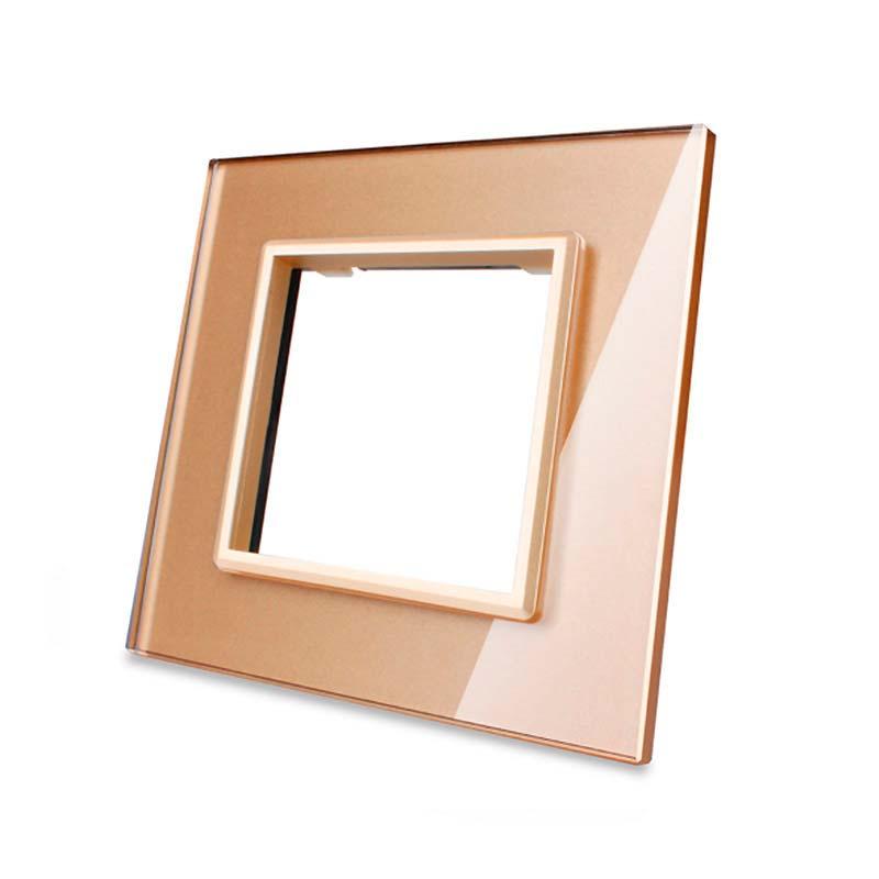Frontal vidro golden 1x oco