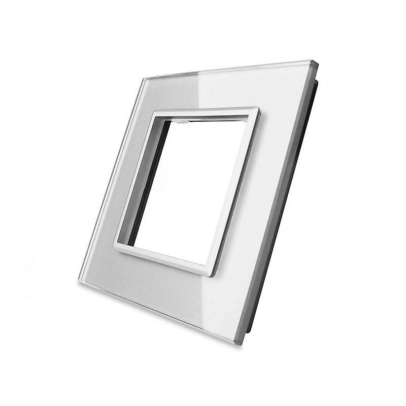 Frontal cristal gris 1x hueco