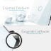 Frontal 3x cristal gris, 1 hueco + 2 botones