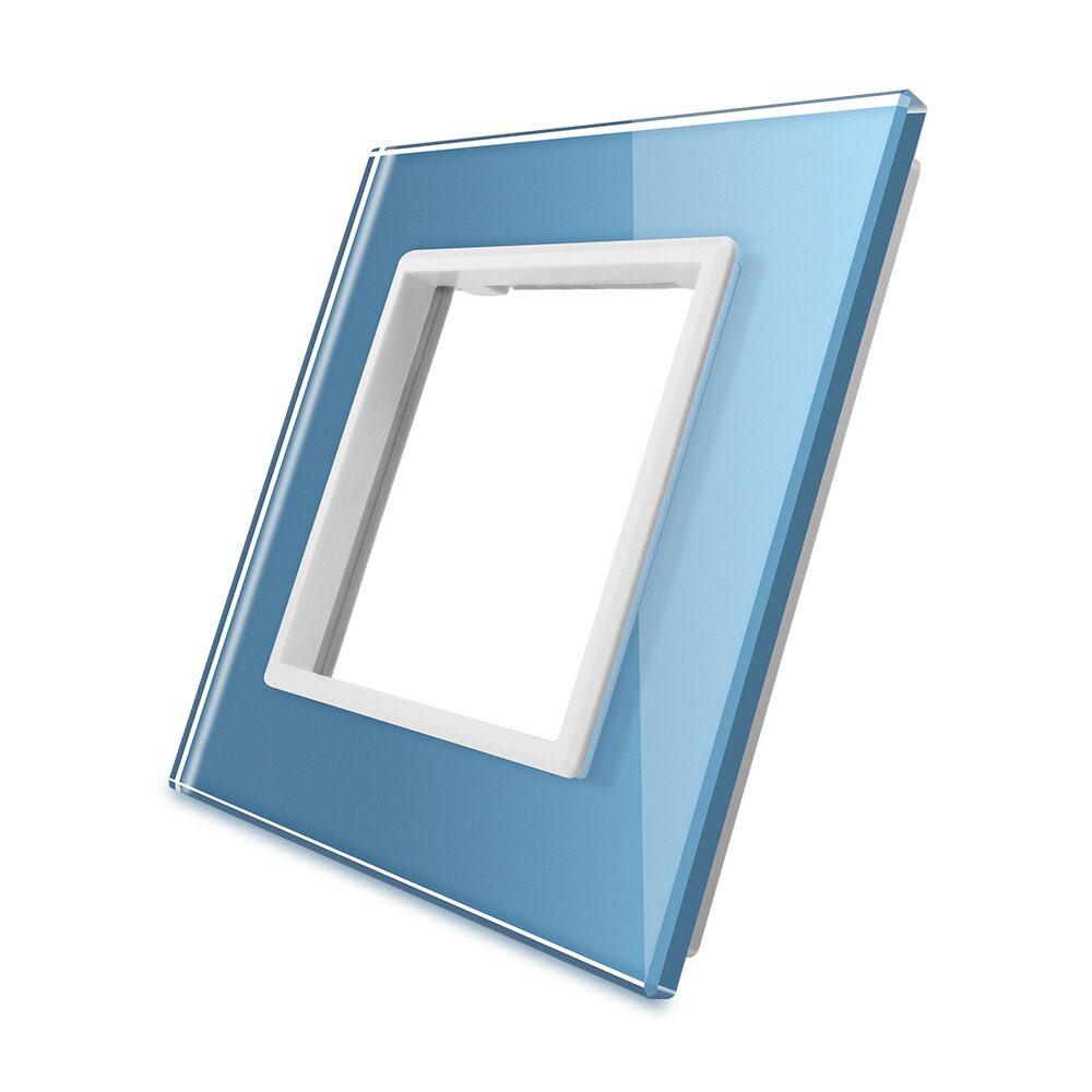 Frontal cristal azul 1x hueco