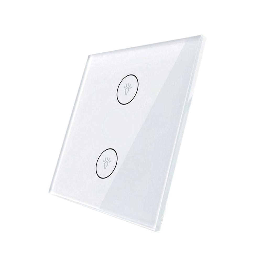 Frontal 1x cristal blanco, 2 botomes