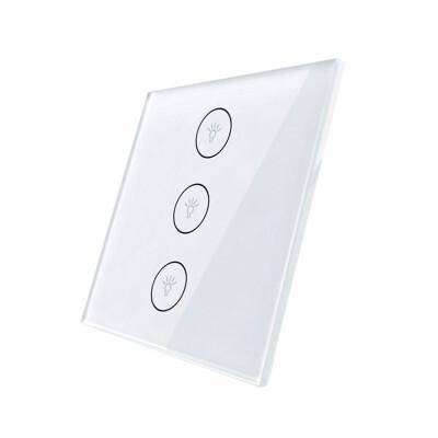 Frontal 1x cristal blanco, 3 botomes
