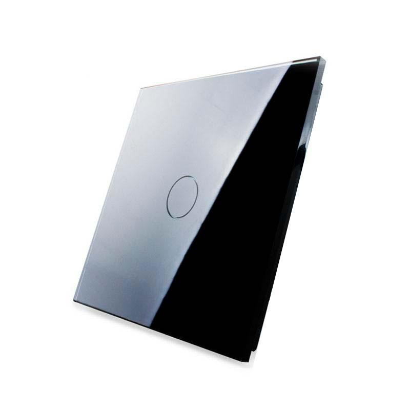 Frontal 1x cristal negro, 1 botón