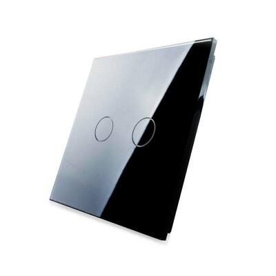 Frontal 1x cristal negro, 2 botones