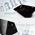 Frontal 2x cristal negro, 4 botones