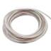 Cable redondo transparente 4x0,30mm RGB silver, 1m