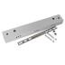 Florão rectangular silver 400x60mm