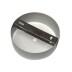 Florón redondo silver, Ø100mm