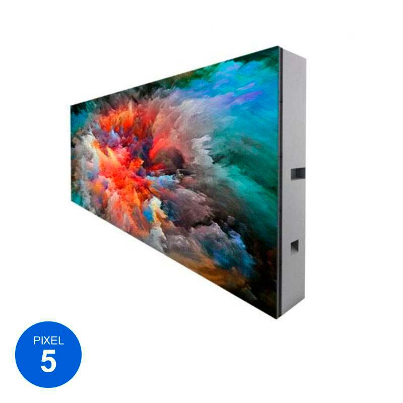 Rótulo Led Modular RGB Pixel 5, 144cm x 48cm