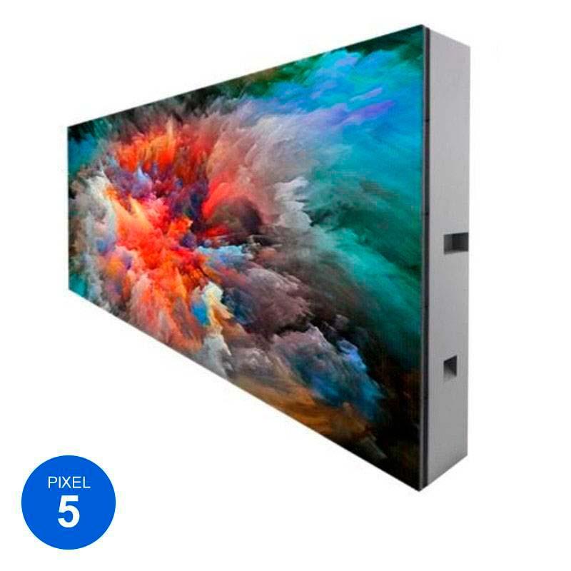 Rótulo Led Modular RGB Pixel 5, 144cm x 80cm