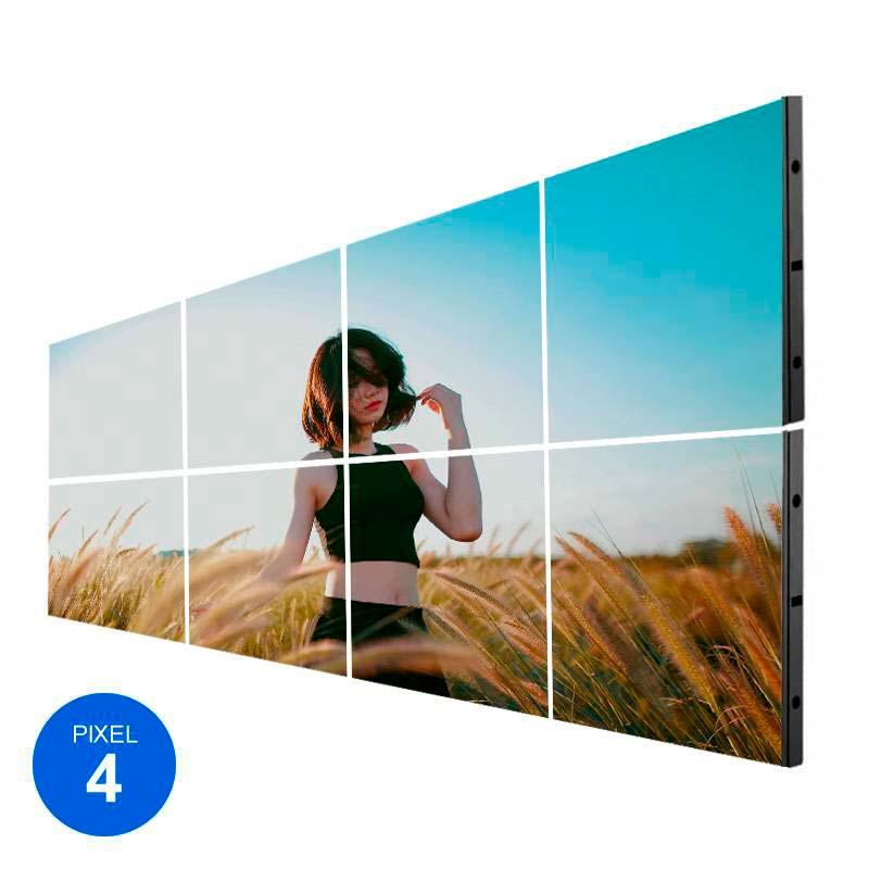 Ecrã LED Interior, Pixel 4, RGB, 2.45m2, 8 Modulos + Controle