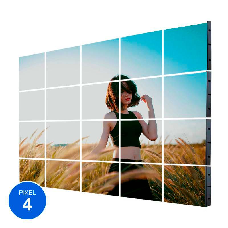 Ecrã LED Interior, Pixel 4, RGB, 6.14m2, 20 Modulos + Controle