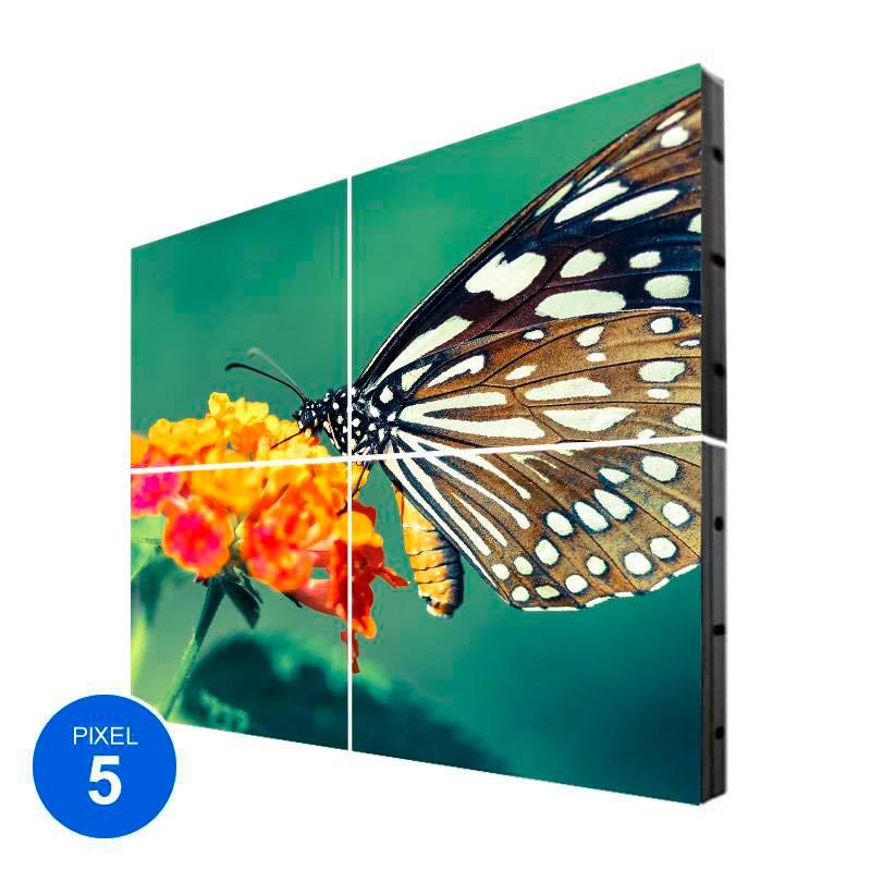 Pantalla Led Interior, Pixel 5, RGB, 1.22m2, 4 Módulos + Control