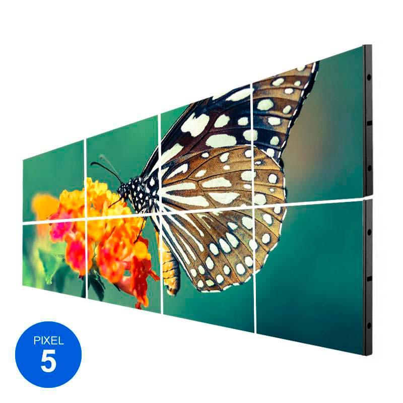 Ecrã Led Interior, Pixel 5, RGB, 2.45m2, 8 Modulos + Controle