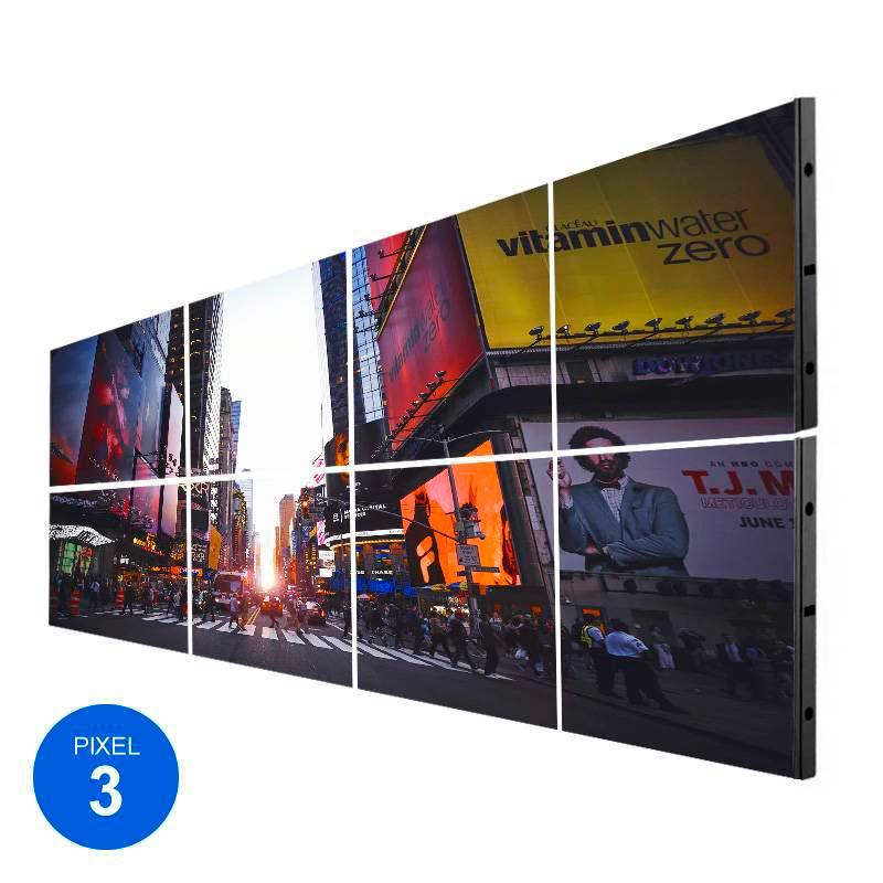 Ecrã LED Interior, Pixel 3, RGB, 2.45m2, 8 Modulos + Controle