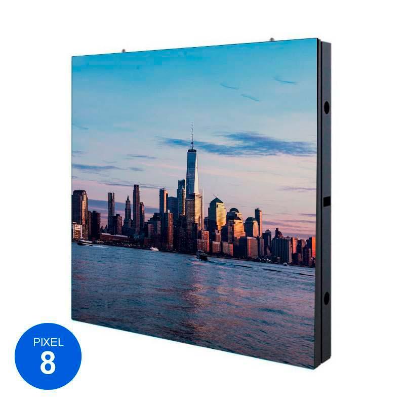 Ecrã Led Exterior, Pixel 8, RGB, 96 x 96cm