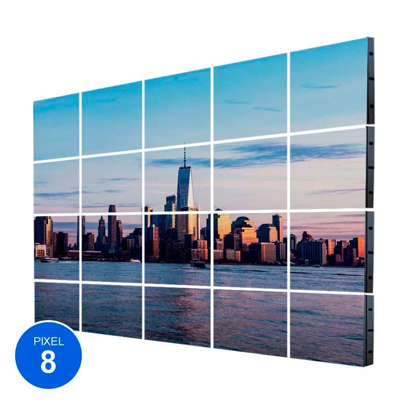 Ecrã Led Exterior, Pixel 8, RGB, 18,43m2, 20 Modulos